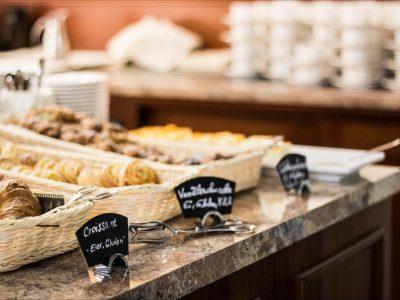 Frühstücksbuffet des Restaurants Bel Air im Hollywood Media